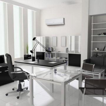 Climatisation LLCC mur bureau