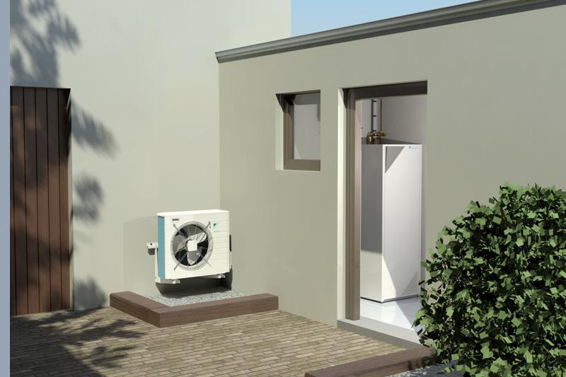 pompes chaleur bibloc basse temp rature climat contr le. Black Bedroom Furniture Sets. Home Design Ideas