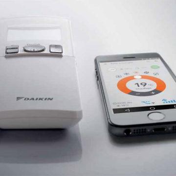 Emura FTXJ télécommande application interface