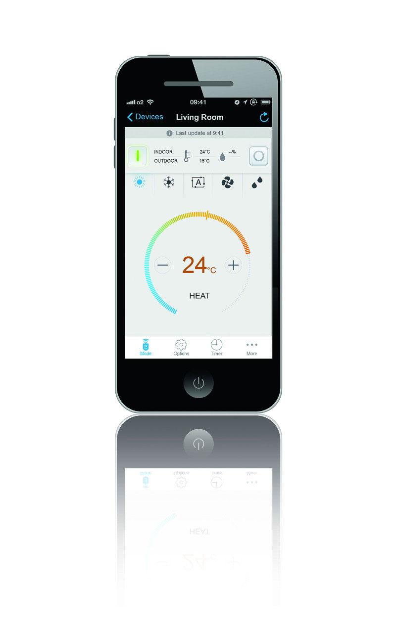 Emura2 FTXG application interface