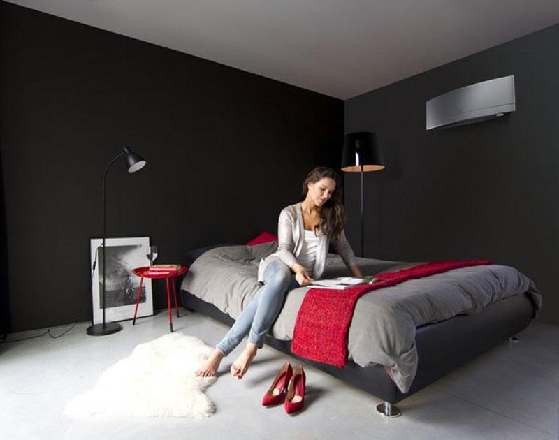 Emura2 FTXG mural gris chambre