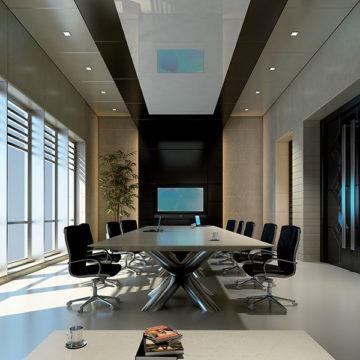 Mini Vrf2 Dc Inverter Atlantic salle de réunion
