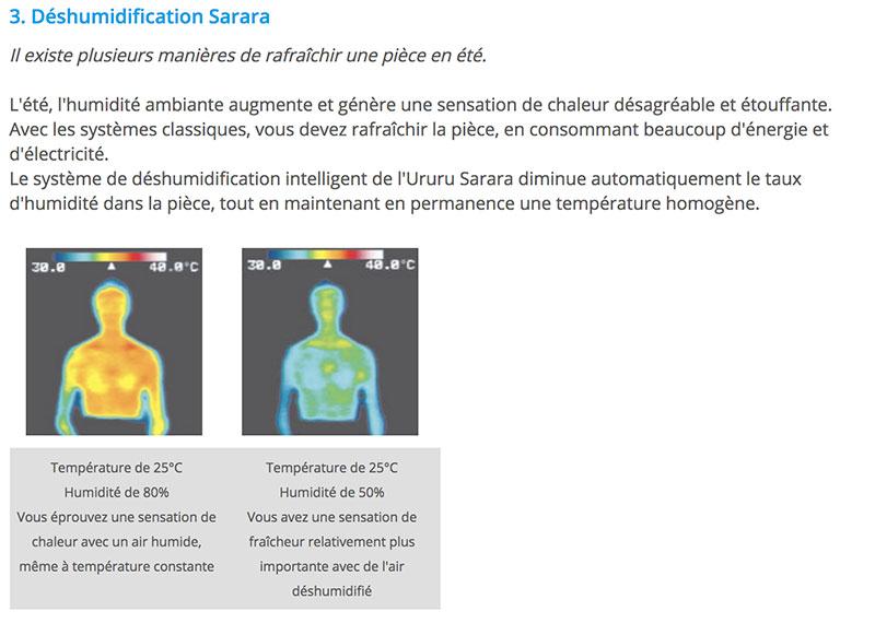 Ururu Sarara FTXZ deshumidification